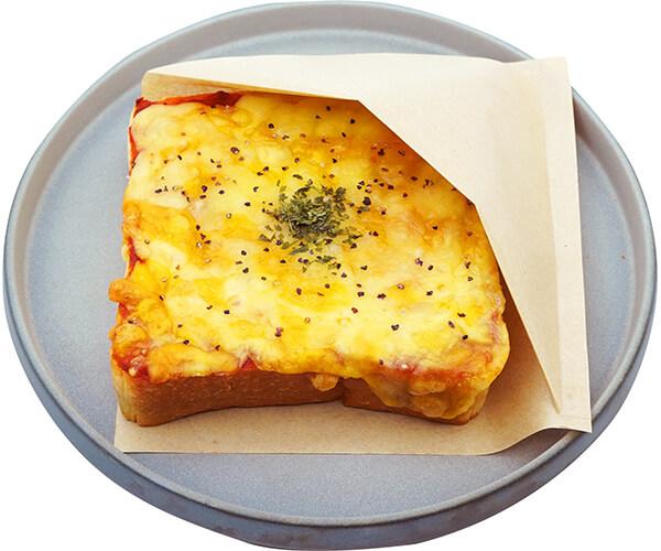 オープンサンド-ピザの写真