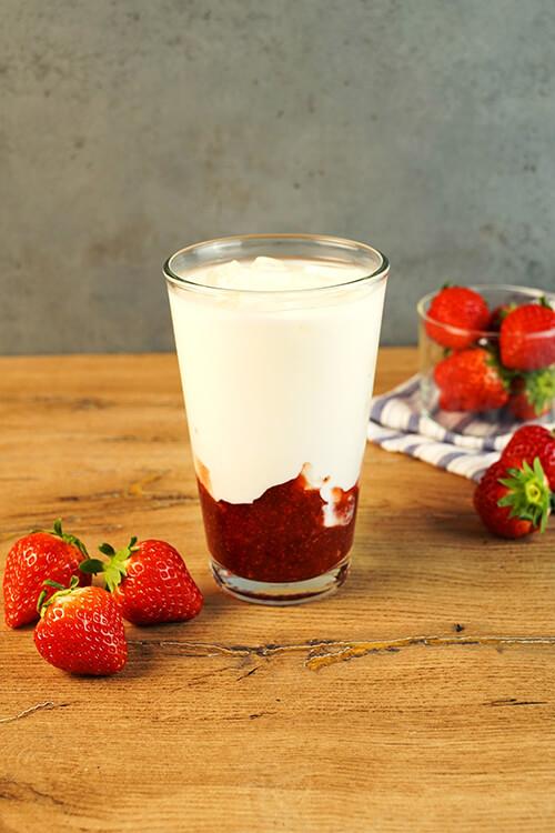 ジューシーいちごミルクの写真